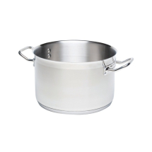 STAINLESS STEEL CASSEROLE PAN (NO LID) 5LTR
