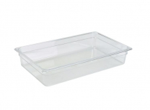 1/1 POLYCARBONATE GN PAN 100MM CLEAR