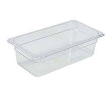1/3 -POLYCARBONATE GN PAN 100MM CLEAR
