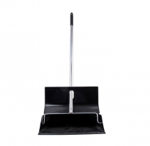 BLACK POWDER COATED LOBBY DUSTPAN