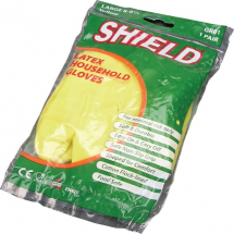 HOUSEHOLD GLOVE GREEN SMALL