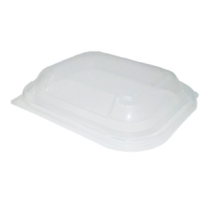 CLEAR PP LID FOR DELI BASES FIT 450CC,650CC & 1000CC 13675