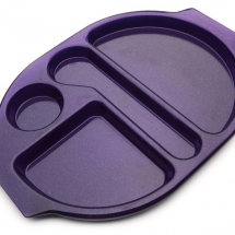 LARGE MEAL TRAY 38X28CM MED BLUE