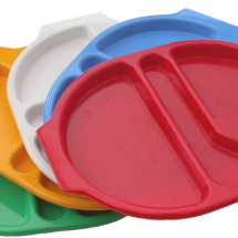 LARGE MEAL TRAY 38X28CM WHITE