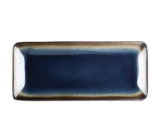 OLYMPIA NOMI RECTANGULAR PLATE BLUE 245X120MM X 6