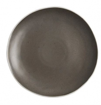 OLYMPIA CHIA PLATES CHARCOAL 270MM X 6 DR814