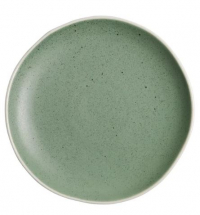 OLYMPIA CHIA PLATES GREEN 205MM X 6 DR801
