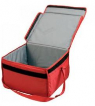 INSULATED PIZZA BAG 16 X 14 X 10inch NYLON, FOLD FLAT