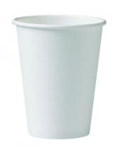 WHITE HOT CUP 9OZ