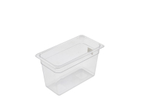 1/3 POLYCARBONATE CLEAR GASTRONORM PAN 200MM DEEP