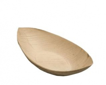 ENVIROWARE COMPOSTABLE PALM LEAF BOAT LARGE