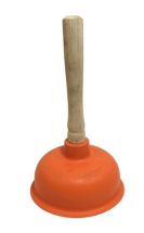 PLUNGER FOR SINKS 361MM HANDLE 150MM(dia)CUP