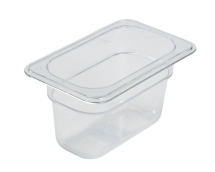 1/9 POLYCARBONATE CLEAR GN PAN 100mm