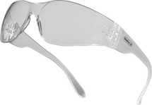 WRAP AROUND SAFETY GLASSES CLEAR SA108-C