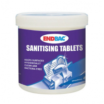 ENDBAC SANITISING TABLETS x230 FOR FOOD AND SALAD WASH