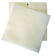 SQUARE BURGER PAPERS 5inch SILICON COATED 18,000 PER BOX