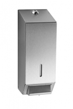 LIQUID SOAP DISPENSER STAINLESS STEEL 1LTR