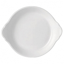 ROUND EARRED DISH 18.5CM SIMPLICITY (WHITE) 11010316