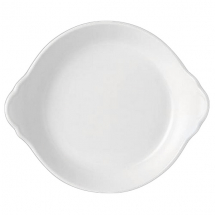 ROUND EARRED DISH 21.5 CM SIMPLICITY (WHITE) 11010317