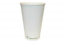 12OZ SINGLE WALL EDENWARE COFFEE CUP PLA LINED X 1000