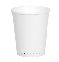 SINGLE WALL 8OZ CUP WHITE
