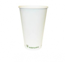 8OZ SINGLE WALL EDENWARE COFFEE CUP PLA LINED