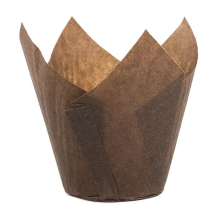 BROWN TULIP MUFFIN WRAP 160MM