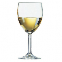 SAXON WINE GLASS 12OZ/240ML LINED AT 250ML CE