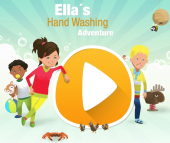 Image for Ella's Hand Washing Adventure