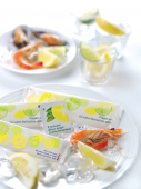 Image for Fresh wipes, hot towels, tooth picks