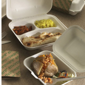 Image for Compostable fast food boxes